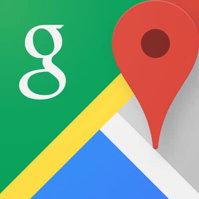 浮気アプリのグーグルマップ