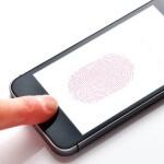 iphoneの指紋認証
